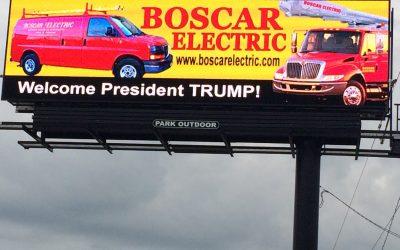 President Trump Comes To Utica